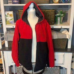 Nautica Reversible Fleece Jacket Sz Large